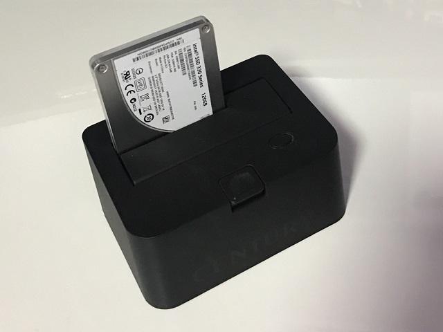 クレードルスタイルのHDDツール