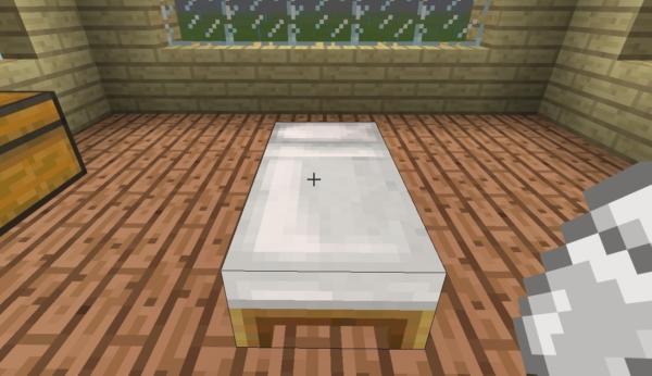 マイクラ ベッド