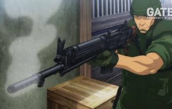 アニメ「ゲート」64式小銃
