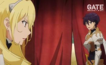 アニメ「ゲート」薔薇騎士団っていいよね・・・