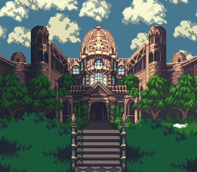 ロマサガ3 聖王廟