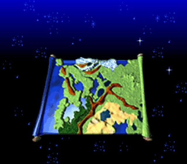 ロマサガ3 地図