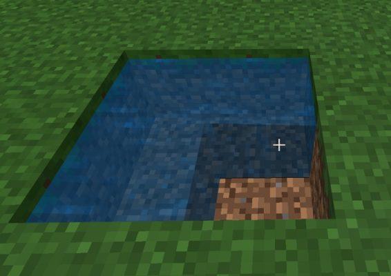 マイクラ 無限水流例