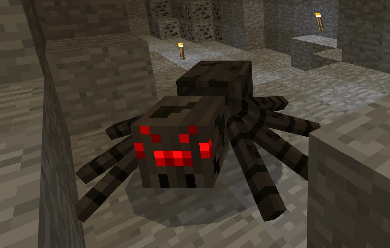 マイクラ クモ