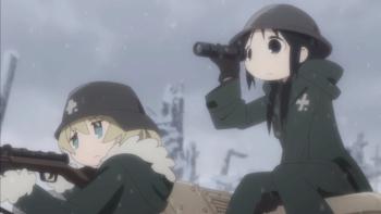 少女終末旅行 狙撃