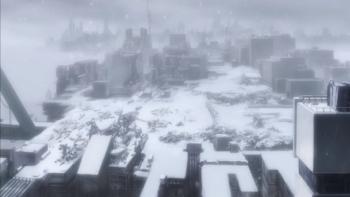 少女終末旅行 廃墟都市