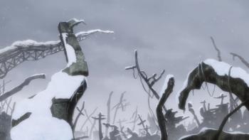 少女終末旅行 瓦礫の山