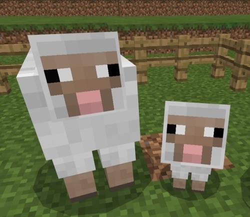 マイクラ 羊サムネ