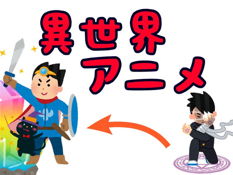 異世界アニメのイメージイラスト