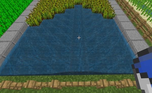 マイクラ 小麦収穫
