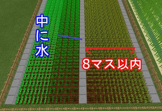 マイクラ 農場簡易モデル設計