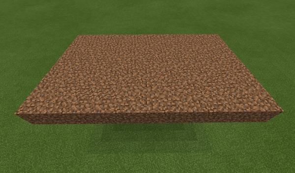 マイクラ 土の台