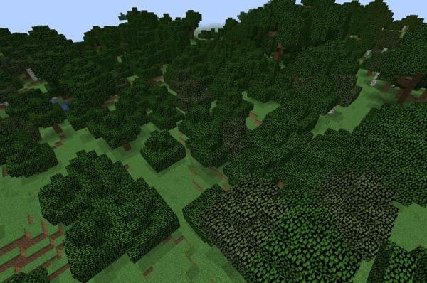 マイクラ 森林バイオーム