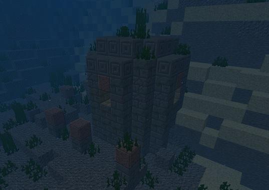 マイクラ 海底遺跡