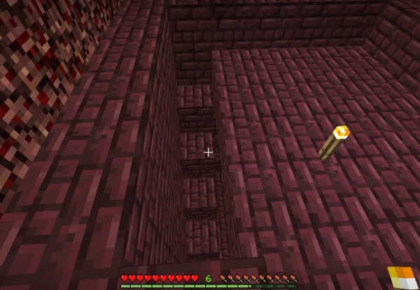マイクラ ネザー要塞階段