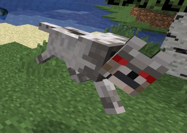 マイクラ オオカミ敵対