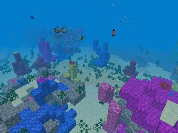 マイクラ 暖かい海