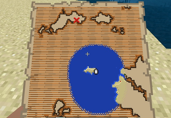 マイクラ 宝の地図