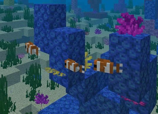 マイクラ 熱帯魚