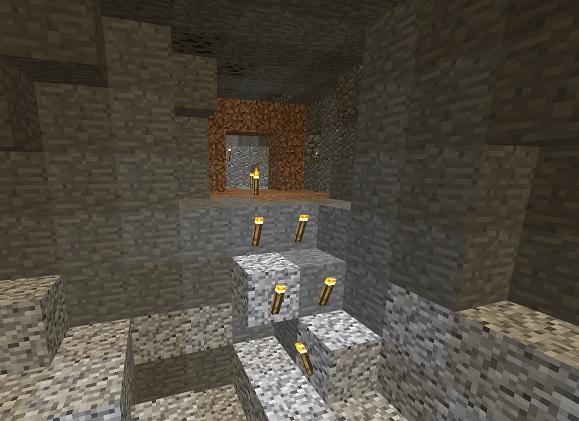 マイクラ 洞窟内目印