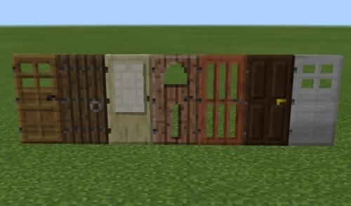 マイクラ ドア