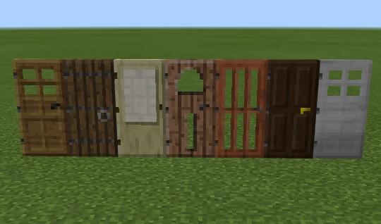 【マイクラ】各種木のドアの作り方や置き方、鉄のドアについて解説!