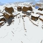 マイクラ 氷原の村