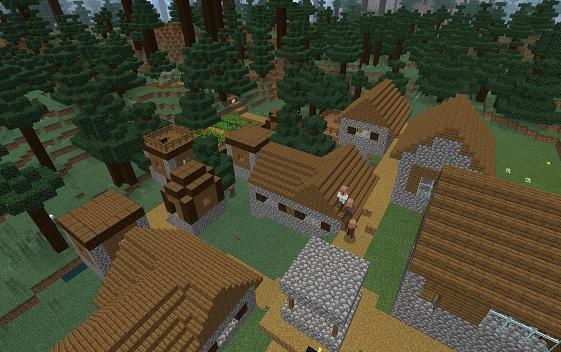 マイクラ タイガの村