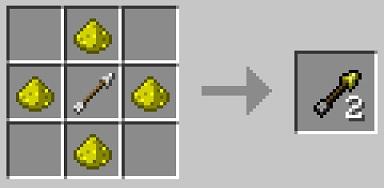 マイクラ 光の矢作り方