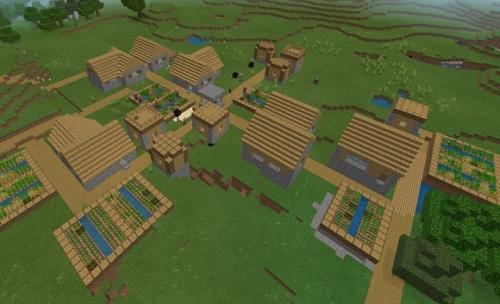 マイクラ 草原の村