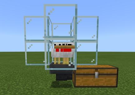 マイクラ 卵自動回収機