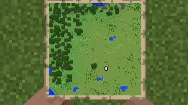 マイクラ 地図の使用