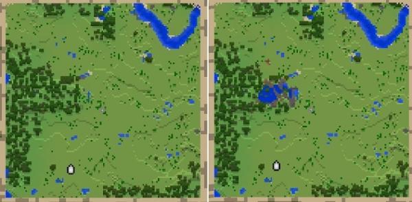 マイクラ 地図ロック仕様