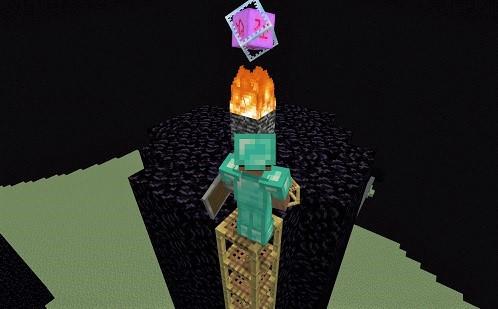 マイクラ 柱に登る