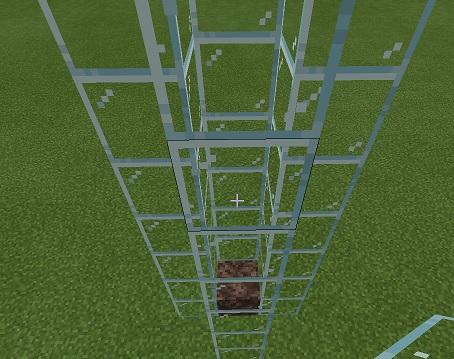 マイクラ SSエレベーター土台積み上げ