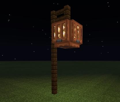 マイクラ 街灯
