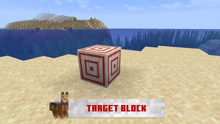 マイクラ ターゲットブロック