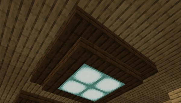 マイクラ 天井照明