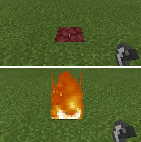 マイクラ 点火