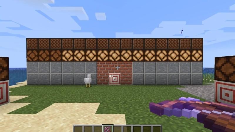 マイクラ ターゲットブロック2