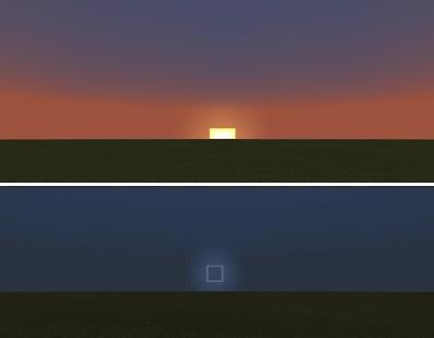 マイクラ 太陽と月