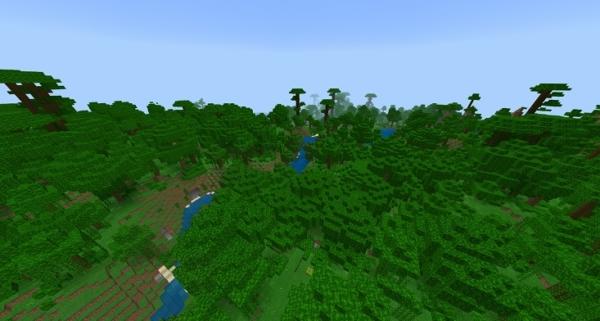 マイクラ ジャングル