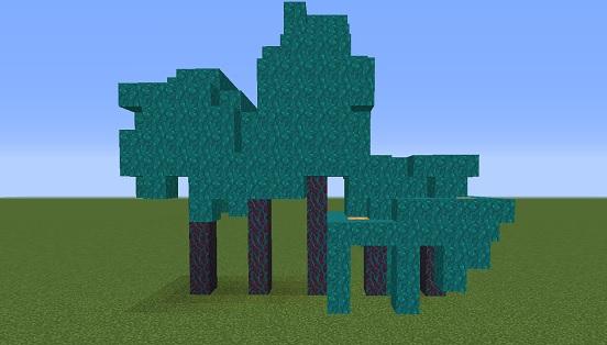 マイクラ 歪んだ木