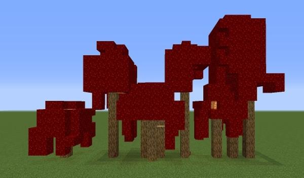 マイクラ 真紅の木 入れ替え