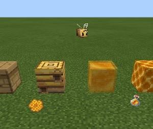 【マイクラ】ミツバチに関するアイテムまとめ!入手方法や特徴の一覧。