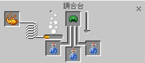 マイクラ タートルマスターのポーション作成