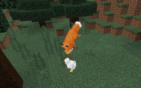 マイクラ キツネ狩り