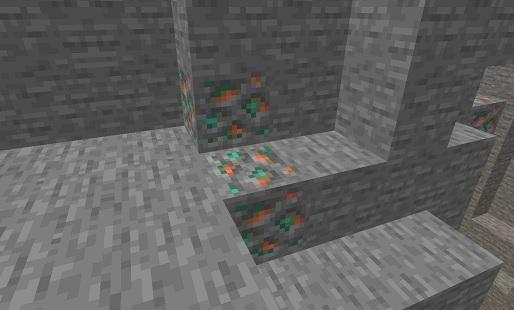 マイクラ 銅鉱石の生成