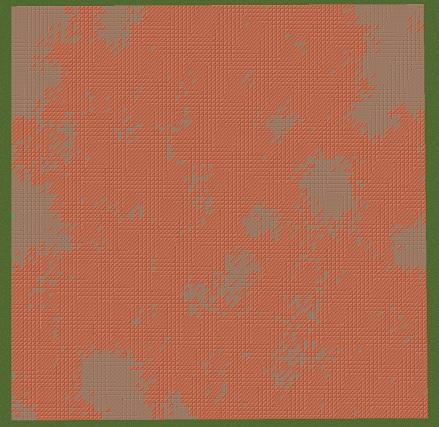 マイクラ 時間経過による銅ブロックの変化 20時間
