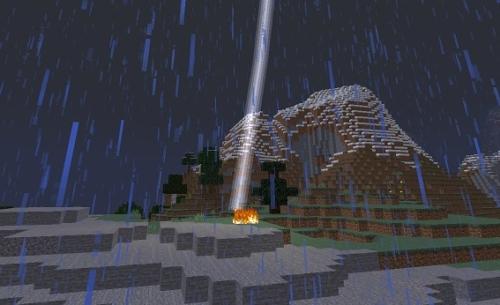 マイクラ 避雷針と落雷
